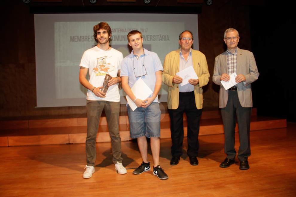 Entrega dels Premis Llanterna Digital