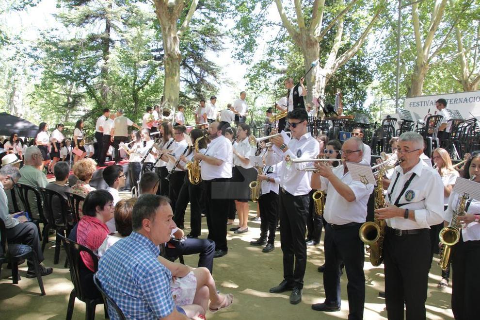 Cerca de 600 músicos de nueve formaciones de todo el Estado, en un concierto de excepción en los Camps Elisis de Lleida