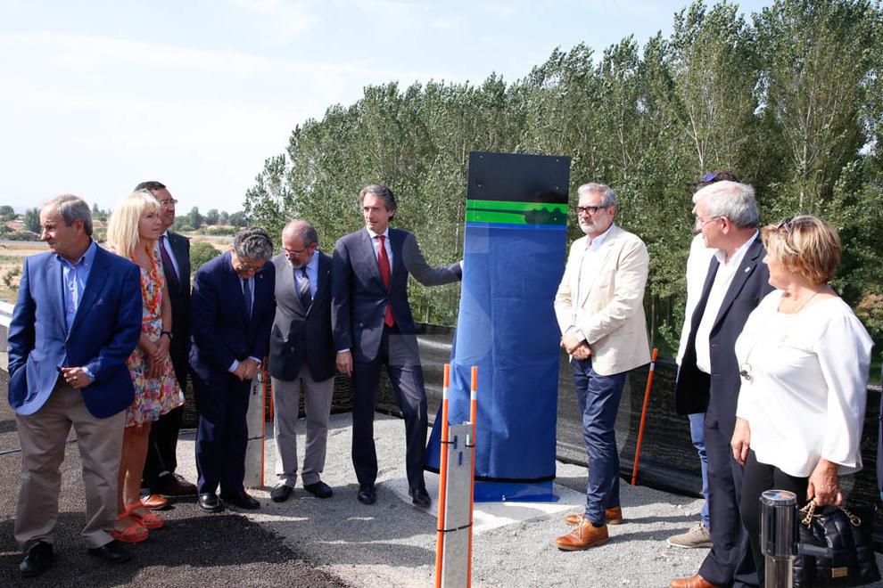 """De la Serna inaugura el tram de la capital a Rosselló que """"dóna sentit"""" a l'autovia"""