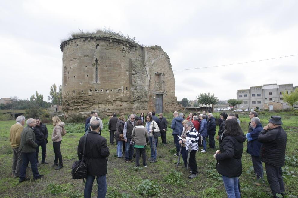 Nínxols de Santa Cecília declarats en ruïna.
