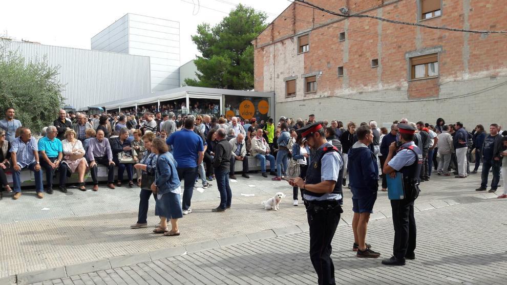 Les borges blinda el pavell de l 39 oli y la comarca vota for El tiempo les borges blanques