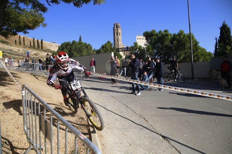 Va comptar amb la participació de prop d'un centenar de 'bikers'.