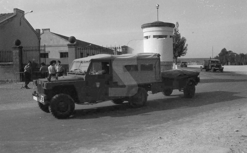 L'assalt d'ETA a la caserna militar de Berga l'any 1980 i la celebració dels consells de guerra a Lleida provoca tensió a la ciutat.