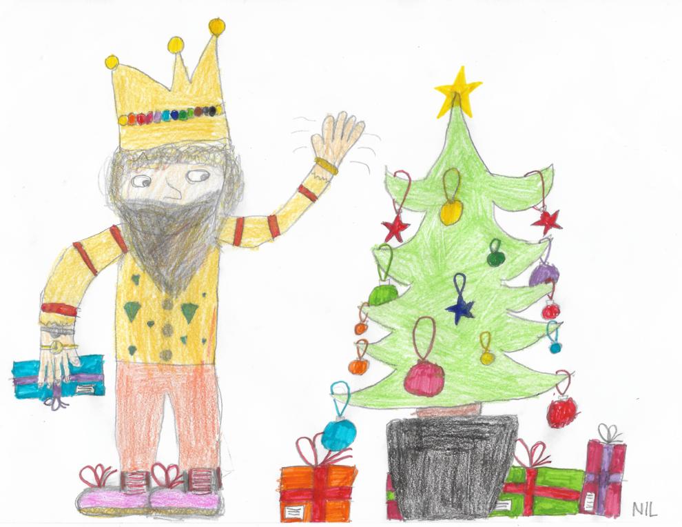 L'arbre de Nadal, el Pare Noel, els Reis... Dibuixa'ns el teu Nadal!