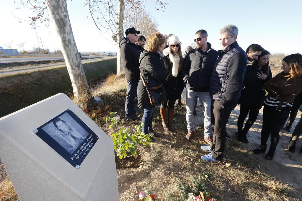 Homenatge A La Jove De Les Borges Morta En Un Accident En La N 240