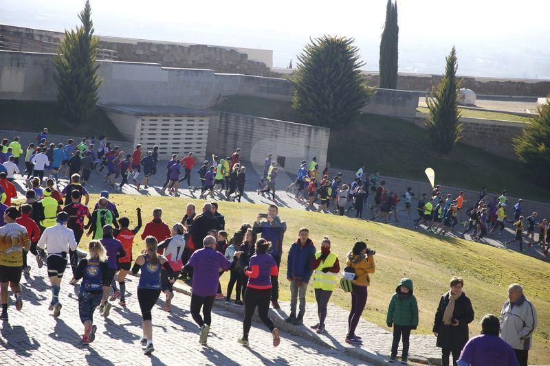 La mítica prova lleidatana va comptar amb uns 800 atletes.