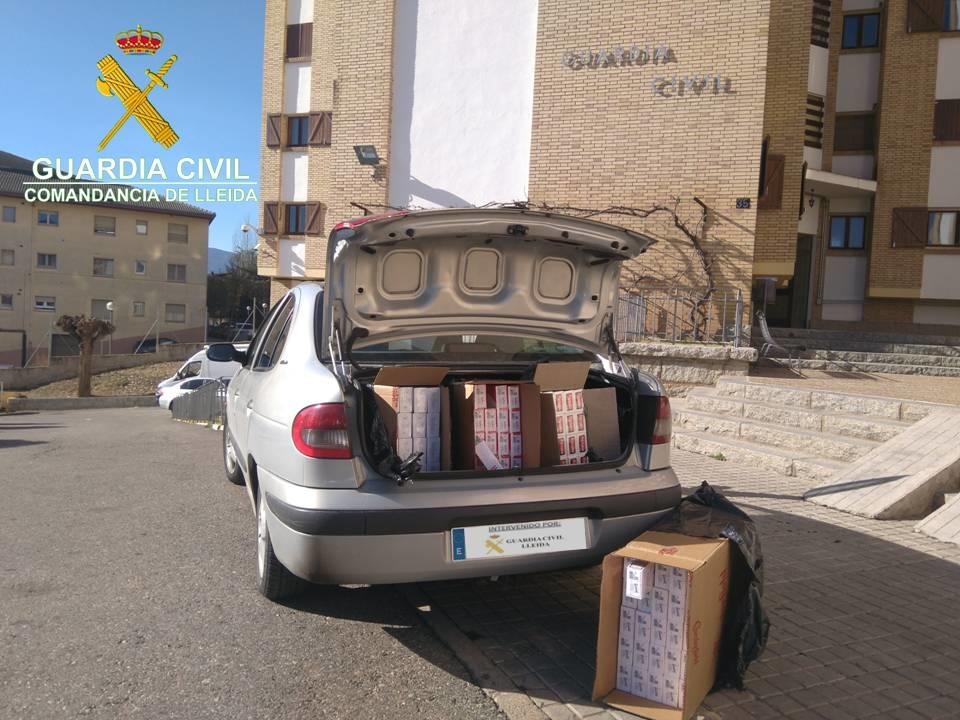Localizan tabaco de contrabando en Arsèguel (Lleida) por
