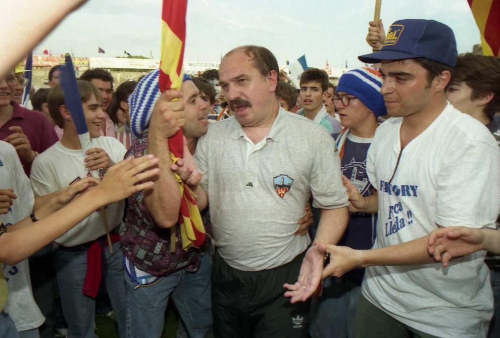 La Unió Esportiva Lleida aconseguia, el 5 de juny, l'ascens a la Primera divisió espanyola. Milers de lleidatans van sortir a celebrar l'ascens, el segon a la història del club