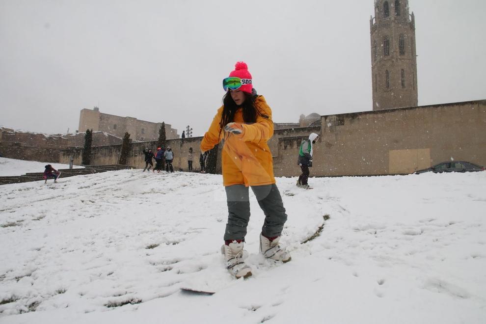 Precipitaciones en forma de nieve a Ponent desde el martes al mediodía