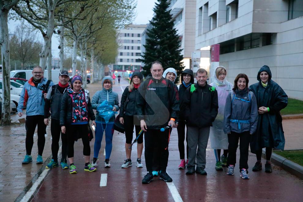 La popular caminada reuneix gairebé 2.000 persones malgrat la meteorologia || Tres nous recorreguts de fins a 34 km i un repte solidari amb Aspros