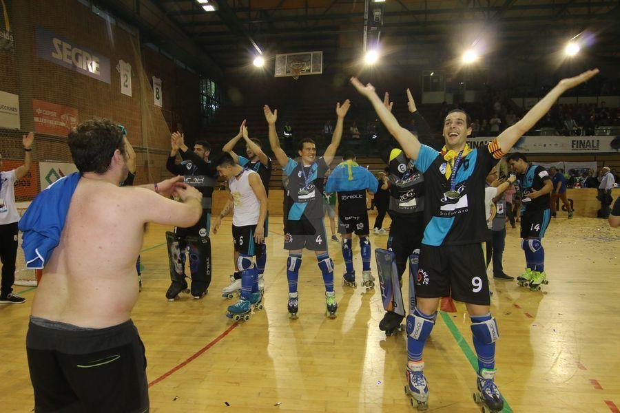 Imágenes de la final de la Copa CERS y de la celebración de los campeones