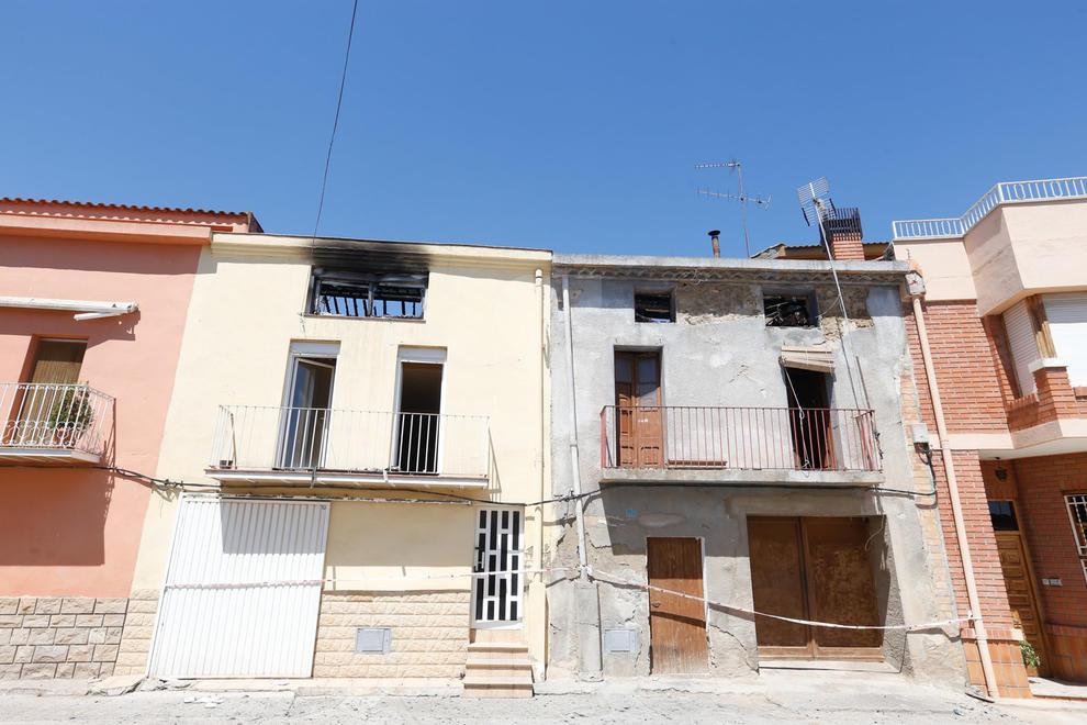 Un incendi en dos cases va obligar aquest dimarts a desallotjar dos famílies a Menàrguens, a la Noguera.
