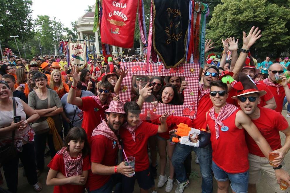 Imágenes del acto inaugural del Aplec del Caragol de Lleida.