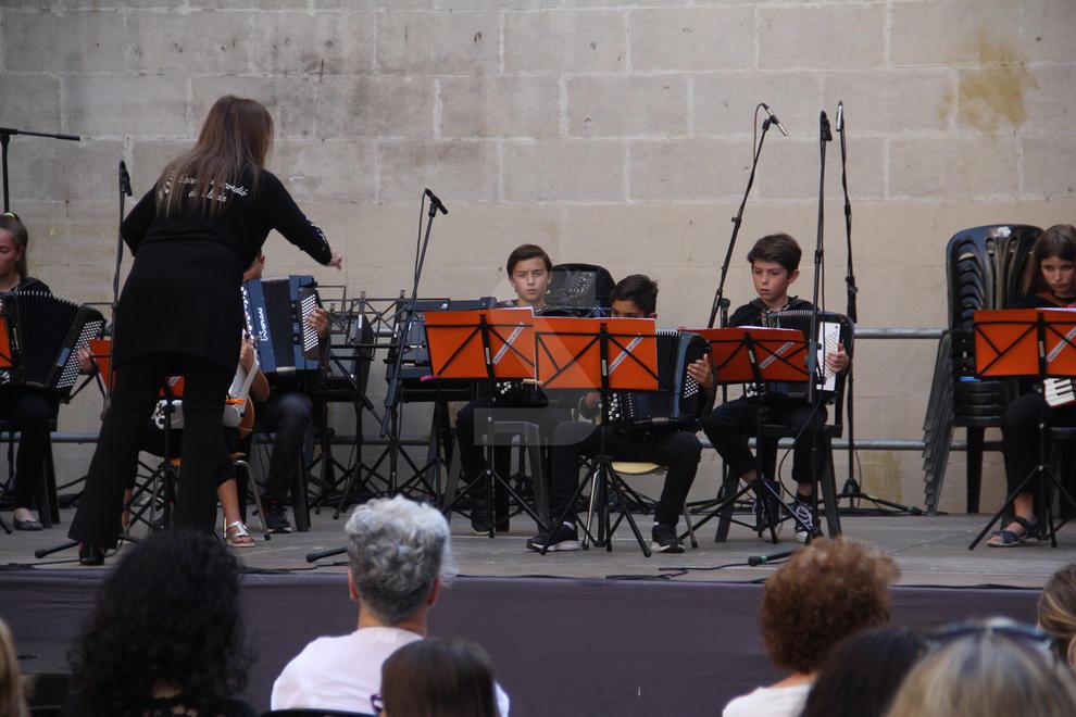 Imatges de la Festa de la Música a Lleida amb més de 350 intèrprets