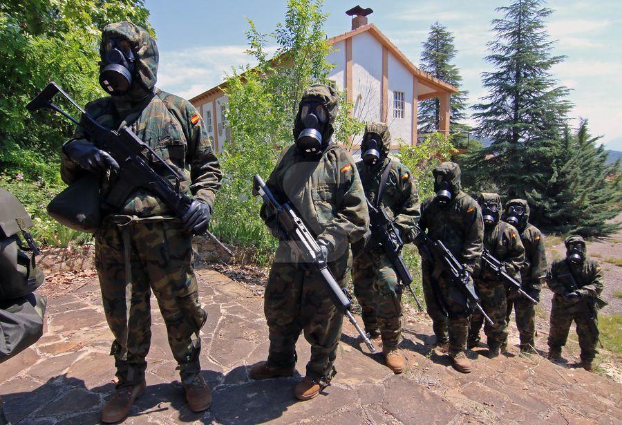 Preparació davant de contaminació nuclear, biològica i química.