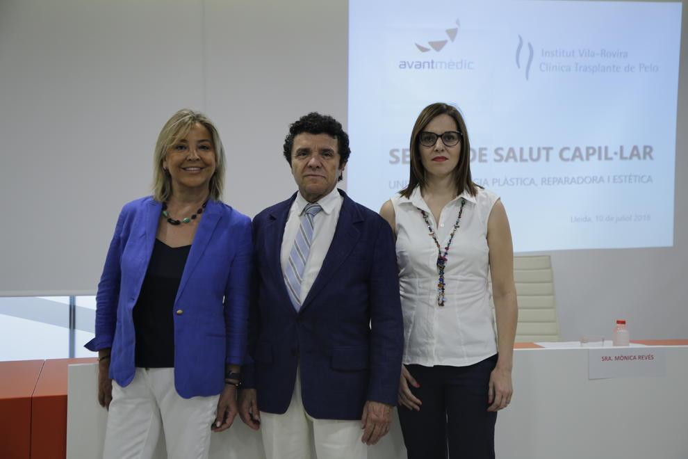 Lleida Estrena Una Unidad De Salud Capilar Que Usa Plasma