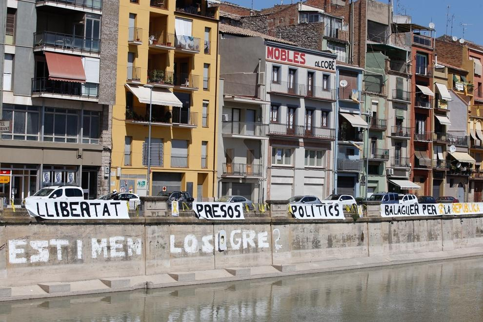 Imatges del diumenge de Transsegre a Balaguer