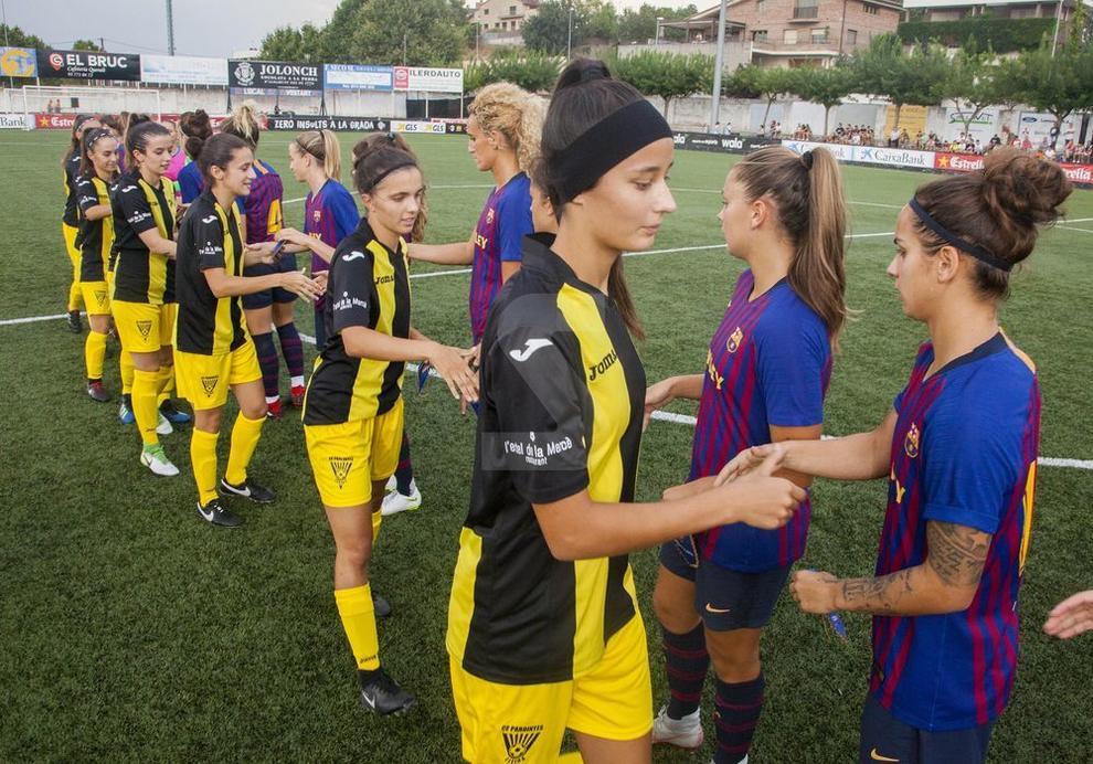 Tàrrega vibra con las semifinales, en las cuales el AEM perdió contra el Español y el Pardinyes, ante el Barça. Asistieron más de un millar de espectadores.