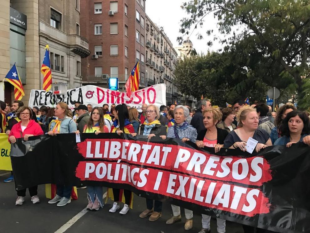 Des de la subdelegació del Govern espanyol fins a l'avinguda Catalunya de Lleida