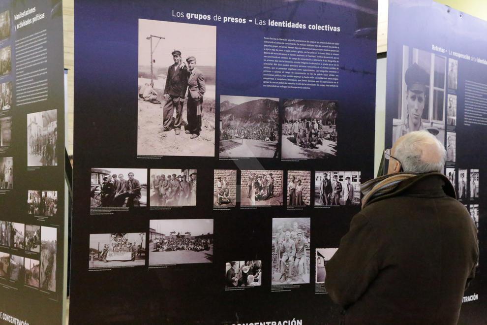 La Biblioteca de Lleida acull des d'ahir l'exposició 'Imatges i memòria de Mauthausen' amb més de 500 fotografies