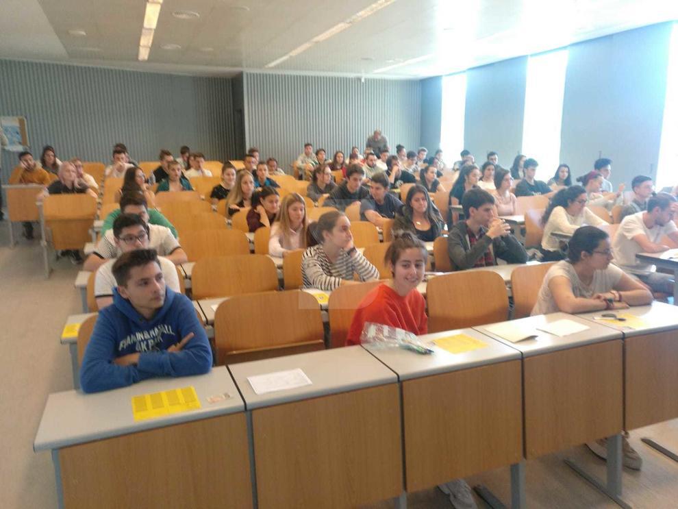 Arranca La Selectividad En Lleida Con Un Incremento De Alumnos