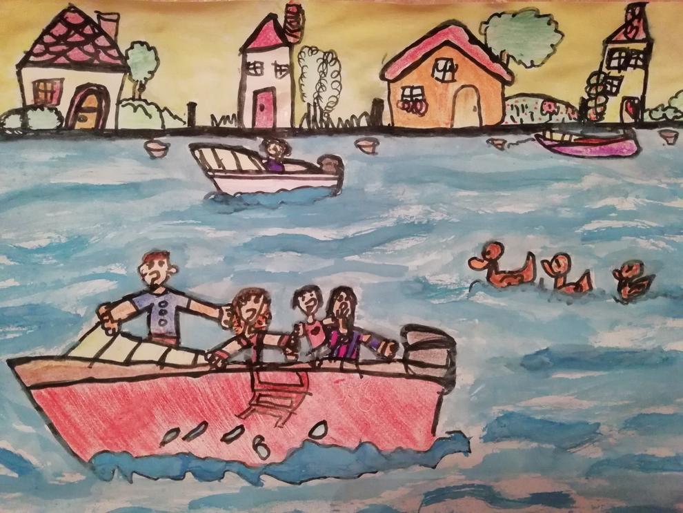 Dibuixa'ns com passes l'estiu i guanya entrades a PortAventura.