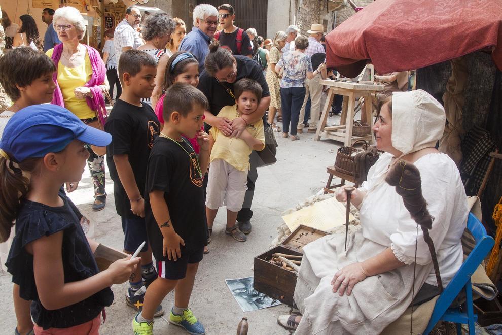 Acaba el 25 aniversari del tradicional mercat amb 20.000 visitants