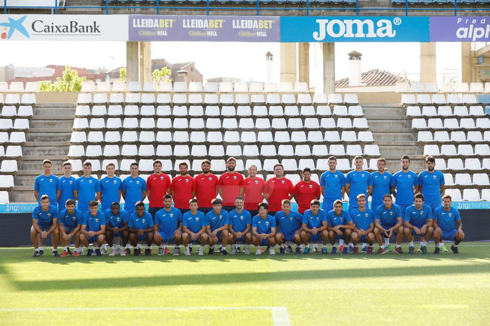 La plantilla del Lleida Esportiu de la temporada 2019-2020