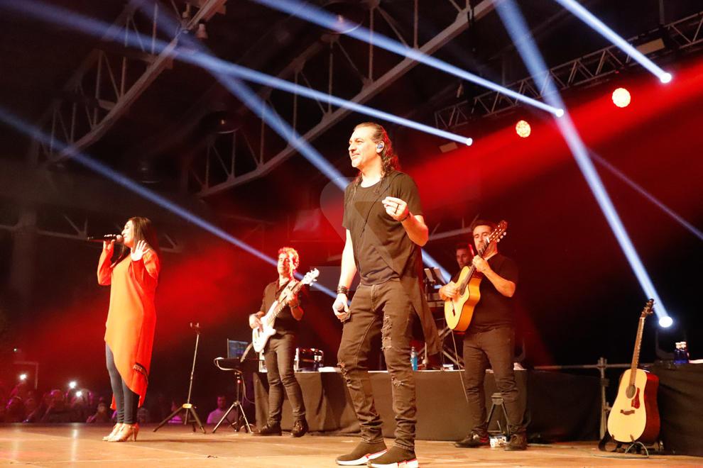 Imatges del concert de Camela a Lleida