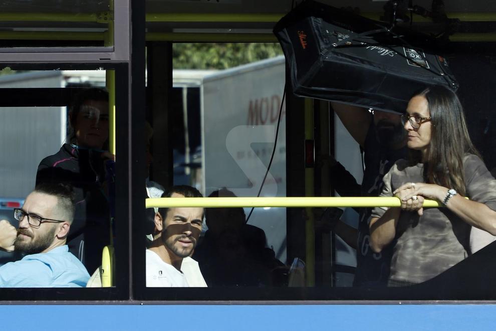 El popular actor filma unes escenes de la seua nova pel·lícula, 'El practicante', al pont Vell i l'avinguda de les Garrigues.
