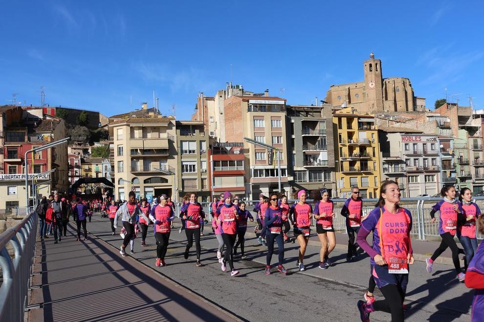 La prova va tancar la Setmana contra la Violència de Gènere de la ciutat amb més de mil persones.