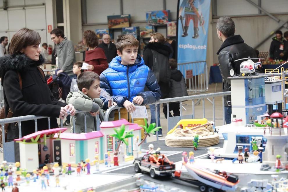 La Fira de Col·leccionisme Playmobil va tancar amb una afluència de 5.500 visitants.