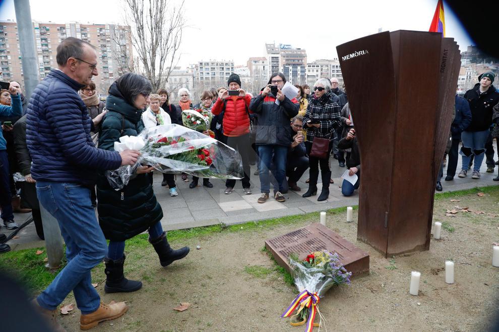 Acte d'homenatge als 45 lleidatans que van ser deportats en camps de concentració nazis el Dia Internacional en Memòria de les Víctimes de l'Holocaust i 75 anys de l'alliberament d'Auschwitz