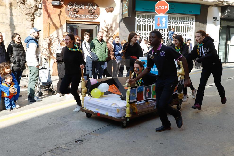 Imatges de la Cursa dels Llits de Lleida