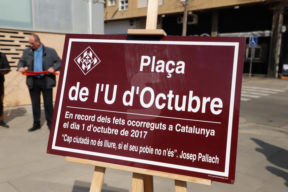 Lleida ha inaugurat aquest dissabte al migdia la plaça de l'U d'Octubre, ubicada davant del CAP del barri de Cappont, cruïlla amb els carrers Esperança Gonzalez i Marqués de Leganés