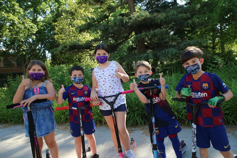 Las mascarillas, obligatorias desde hoy para los mayores de 5 años