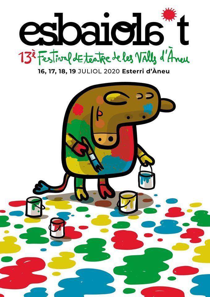 Esbaiola't. 13è Festival de teatre de les Valls d'Àneu