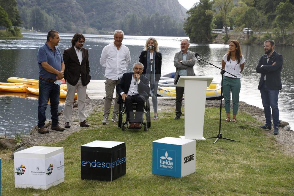 Promoguda per Grup SEGRE i Endesa per mostrar el patrimoni turístic de Lleida a través dels rius.