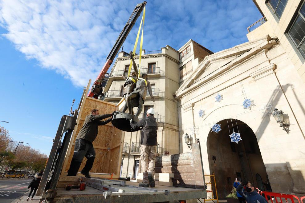 Els dos cabdills ilergets viatgen a Barcelona, on seran restaurats