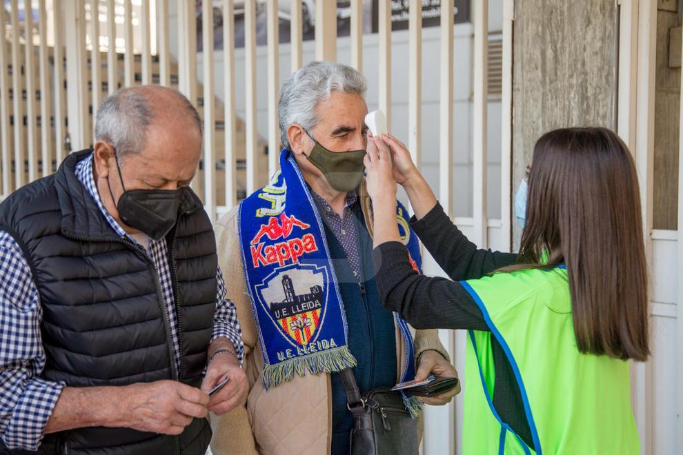 El Lleida Esportiu - Andorra va comptar amb la presència de públic un any després