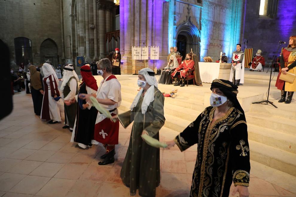 A cargo de la Asociación de la Fiesta de Moros y Cristianos de Lleida.