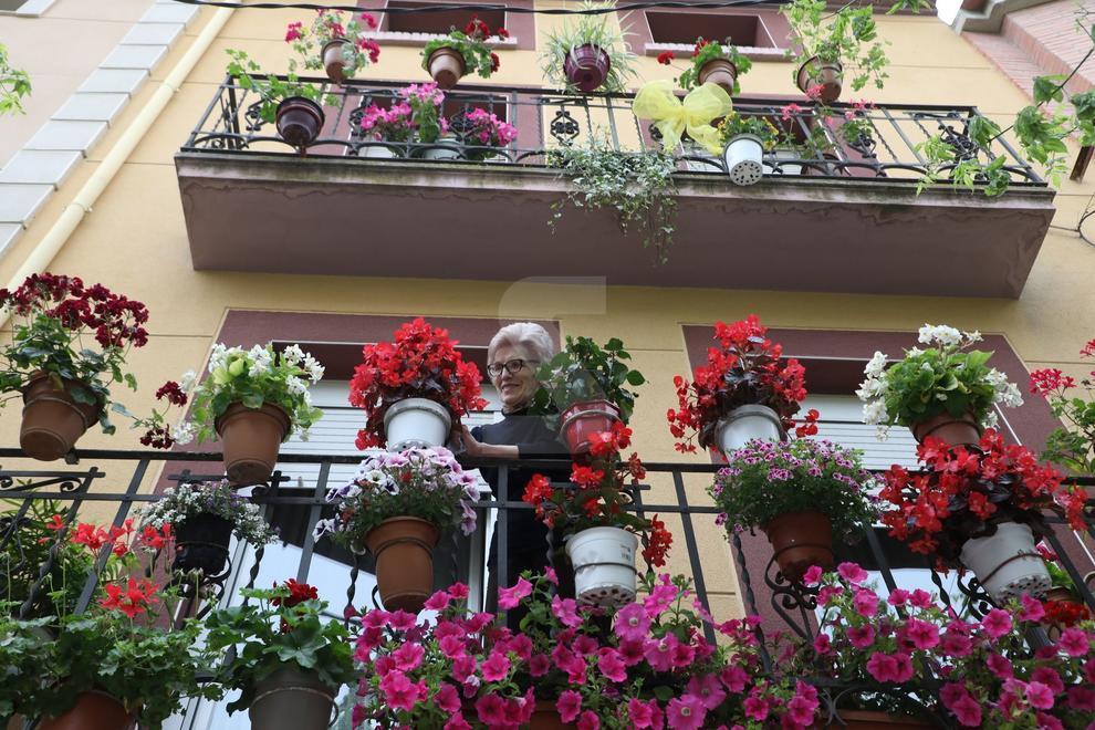 Los pueblos de la comarca de Les Garrigues engalanan con flores y plantas calles, balcones, patios y ventanas para mejorar la imagen local, atraer turistas y tomar conciencia de un mejor espacio público.