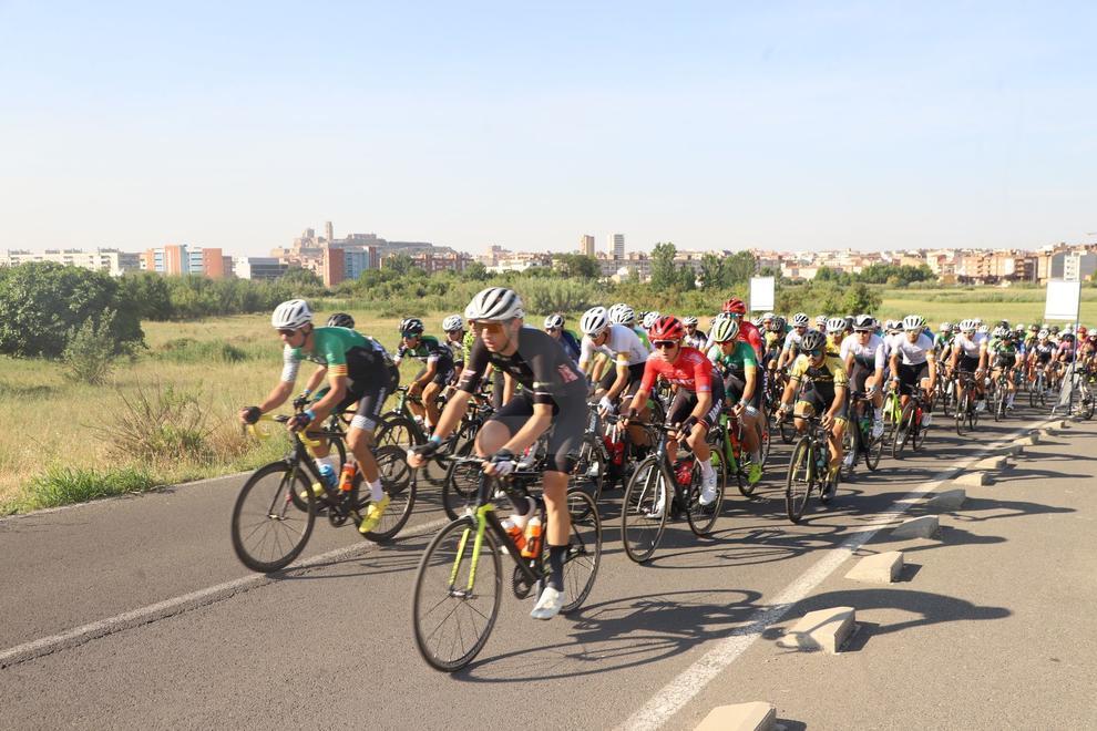 Con 160 corredores de unos 15 equipos de España.
