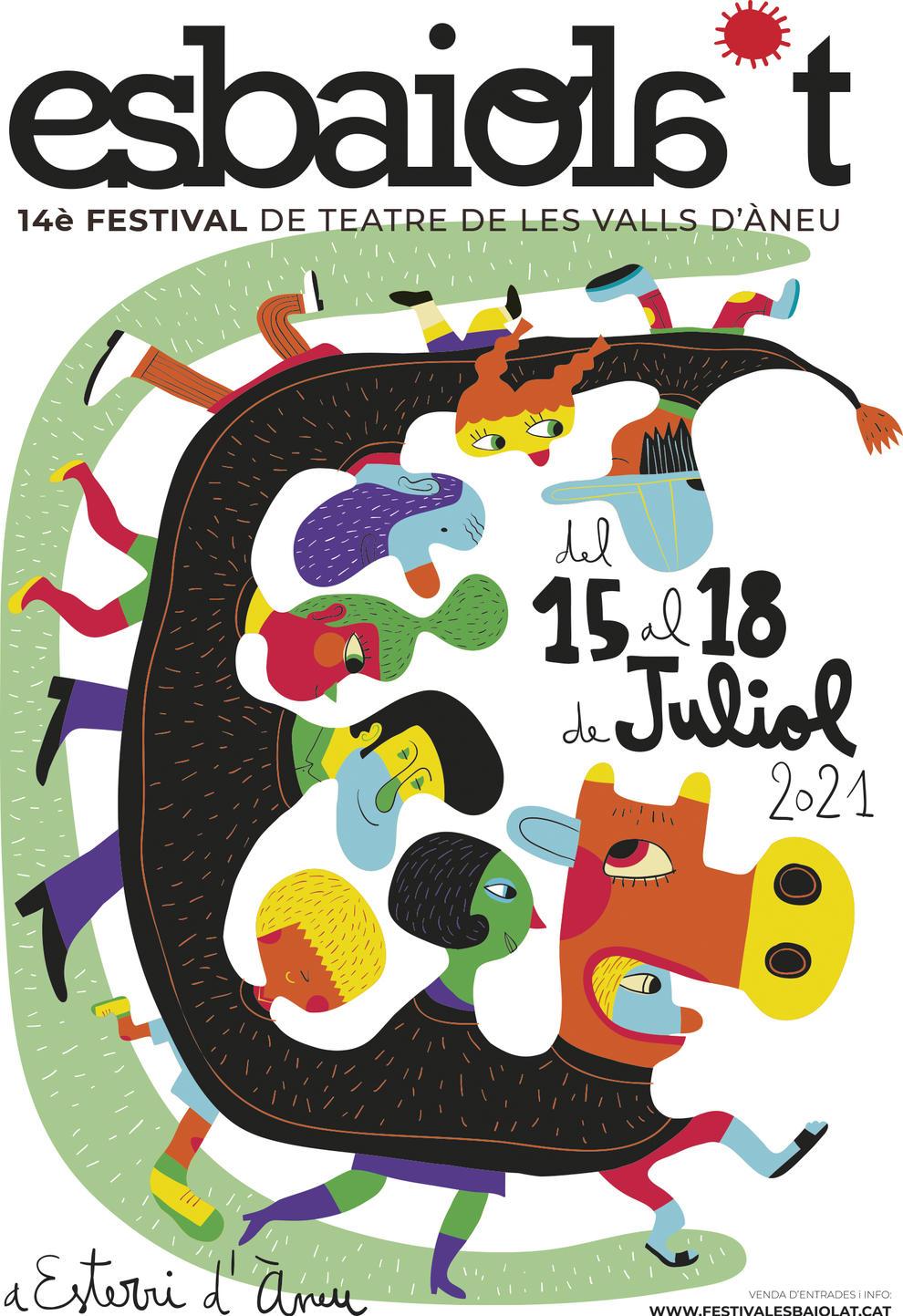 Esbaiola't. 14è Festival de Teatre de les Valls d'Àneu