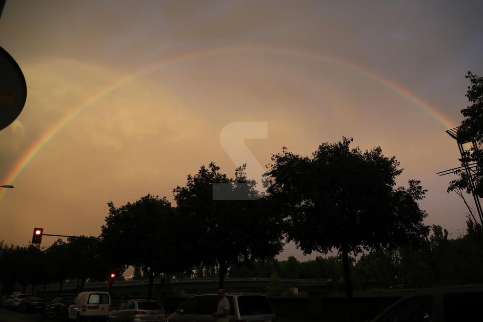 Después de la tormenta del 31 de julio.